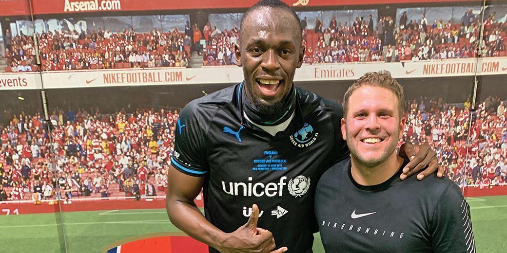 London IFA teams up with Usain Bolt