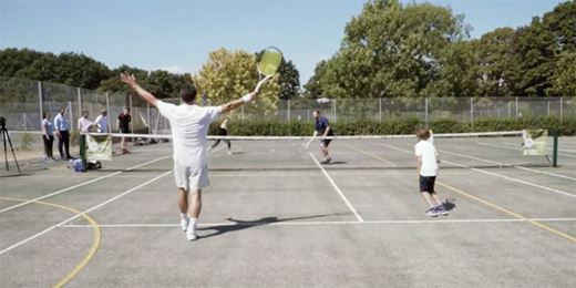 On The Road Challenge: Blu Family Office serve up tennis challenge to Wealth Manager