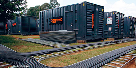 Aggreko plunges amid European market sell-off