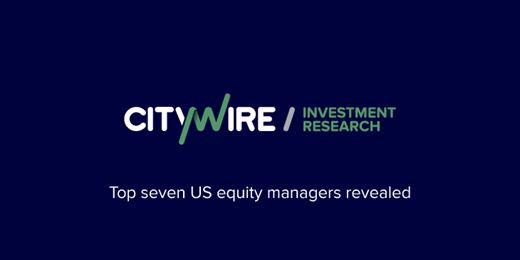 The top seven US equity managers over the past five years