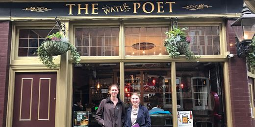 Pub Club: At the Water Poet with BMO's Kelly Prior