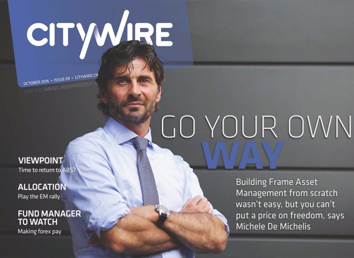 Citywire Swiss Indpendent Manager Issue 9