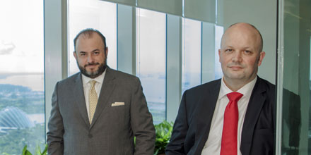 The bigger picture: Standard Chartered's Alexis Calla and Dany Dupasquier
