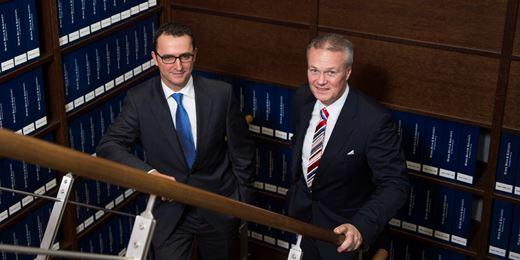 Im Portrait: Das Münchener Huber & Reuss-Duo