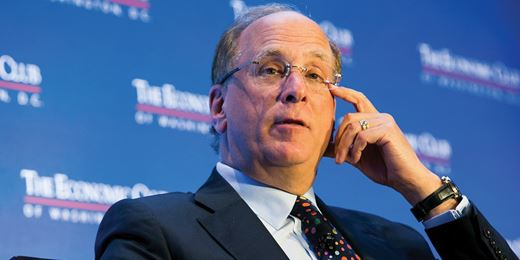 BlackRock chief gets active on corporate governance