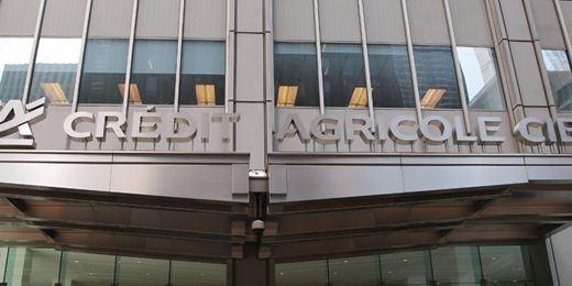 Crédit Agricole: utile netto a 186 milioni di euro
