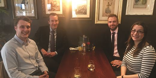 Pub Club: At Balls Brothers with Charles Stanley's latest recruits