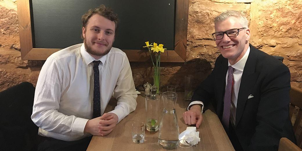 Pub Club: At Rendezvous Wine Bar with Simon Powell-Jones, Investec W&I