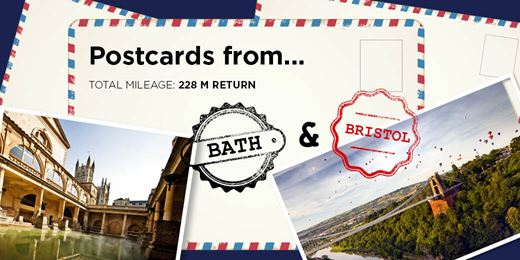 On The Road Diary: Postcards from Bristol and Bath...