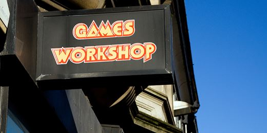 Fundhammer! Star stock Games Workshop blasts back