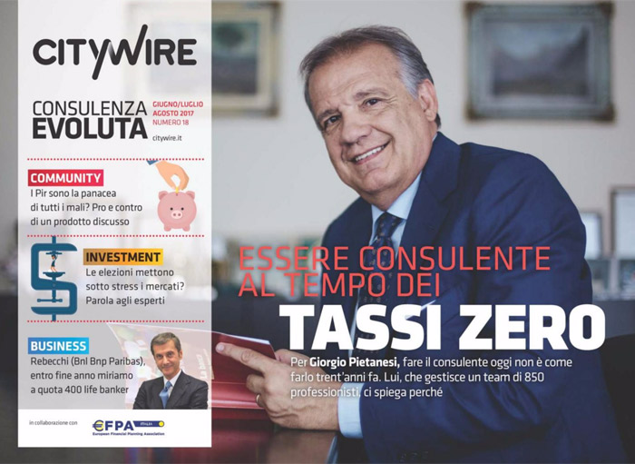 Citywire Consulenza Evoluta magazine Issue 18