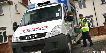Tesco and Marks & Spencer top & tail flat FTSE