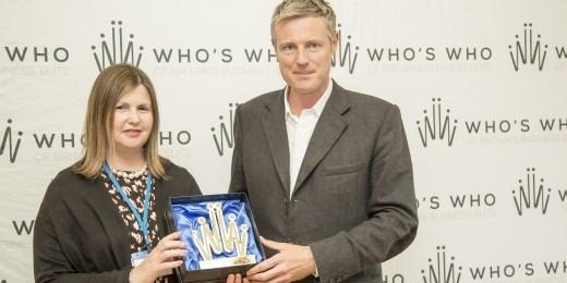 Nicola Horlick wins inaugural 'Champion of Change' award