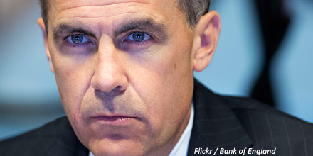 Pound falls as Carney cools rate rise expectations