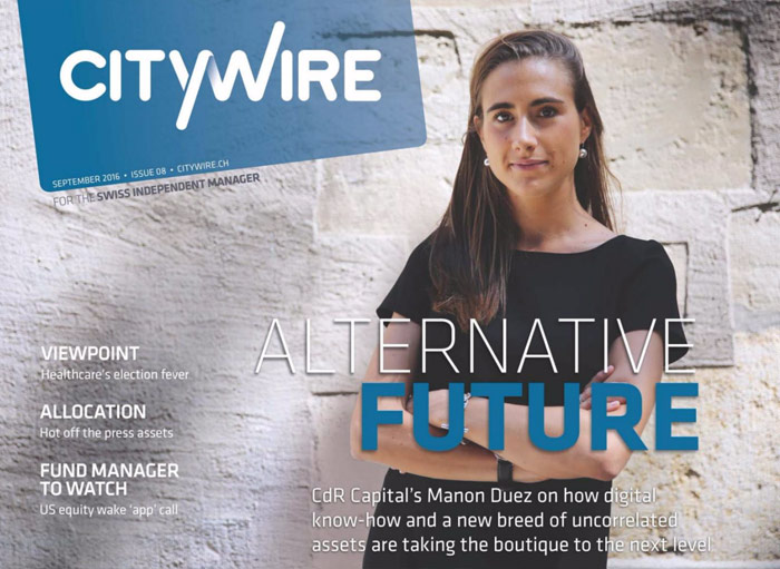 Citywire Swiss Indpendent Manager Issue 8