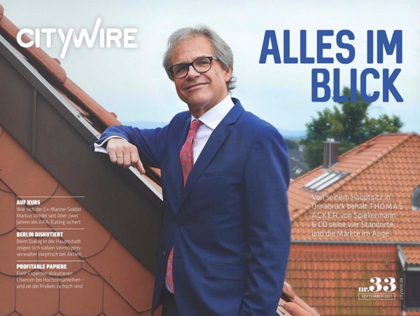 Citywire Deutschland Magazine Issue 33